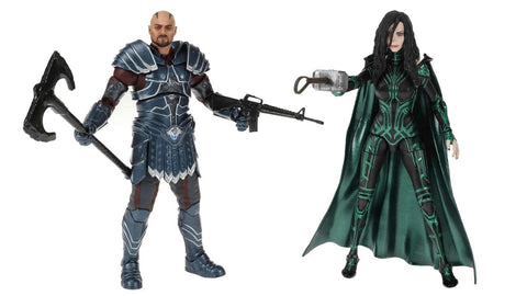 In Stock Soon! Marvel Legends 80th Anniversary Skurge and Hela Figure Set