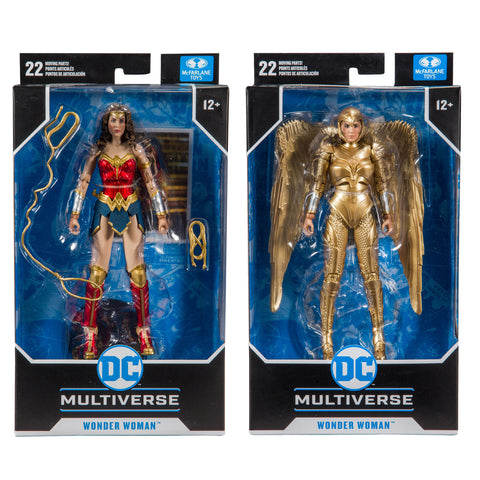 "McFarlane Toys Wonder Woman 1984 7"" Figure Set"
