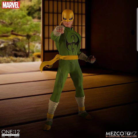 Pre-Order - Mezco One:12 Collective Iron Fist 6-Inch Figure