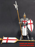 PRE-ORDER - Mythic Legions All Stars: Templar Knight Legion Builder