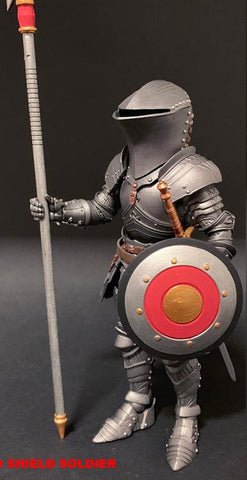 Pre-Order - Mythic Legions: Arethyr Red Shield Soldier