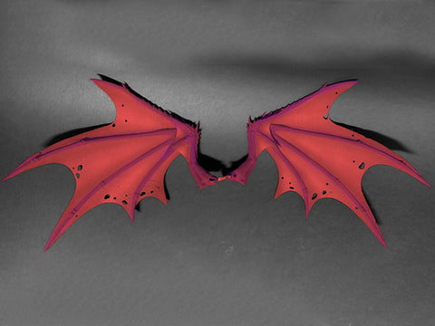 Pre-Order - Mythic Legions: Arethyr Demon Wings (Red)