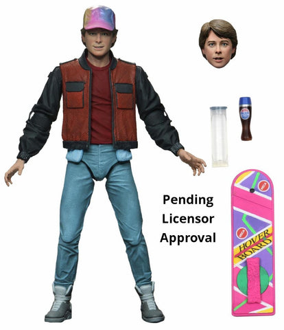 "Neca Back to the Future Part 2 Marty McFly 7"" Ultimate Action Figure"