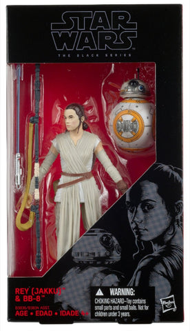 "Star Wars Black Series - Rey & BB8 (Lightsaber version) 6"" Action Figure"