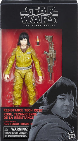 Shelfwarmer Special - Star Wars Black Series - Rose Tico (Tech) 6-Inch Figure