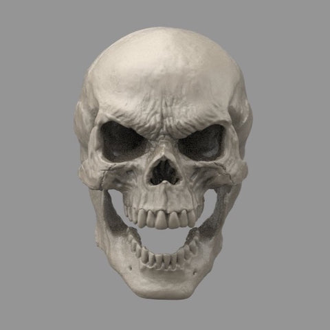 1/12 Unpainted Head - Skull A (For Mezco Bodies)