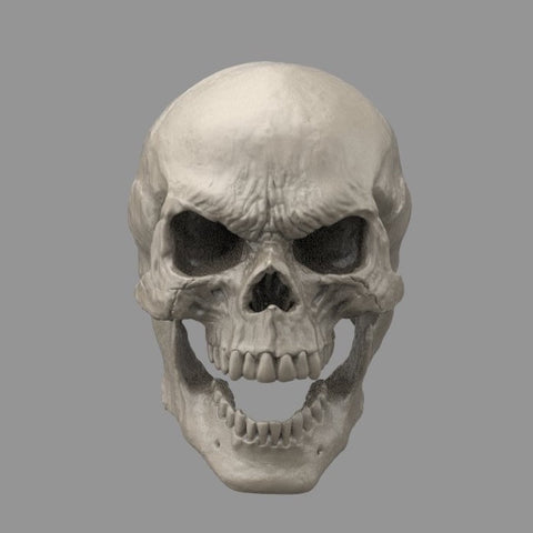 1/12 Unpainted Head - Skull A (For Mythic Legions 1.0 Bodies)