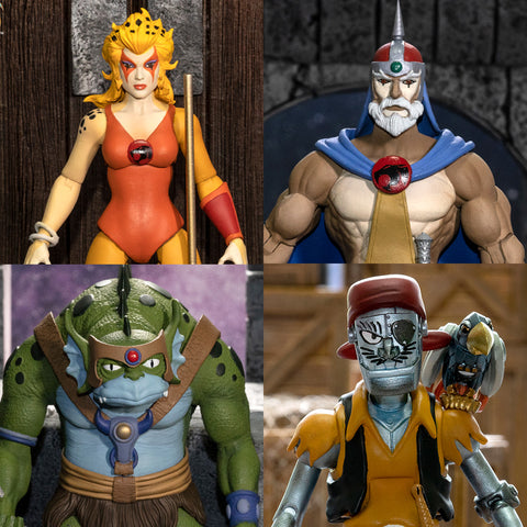 Pre-Order -  (4 Figure Set) Super7 Ultimate Thundercats Wave 3 (6-Inch Action Figures)