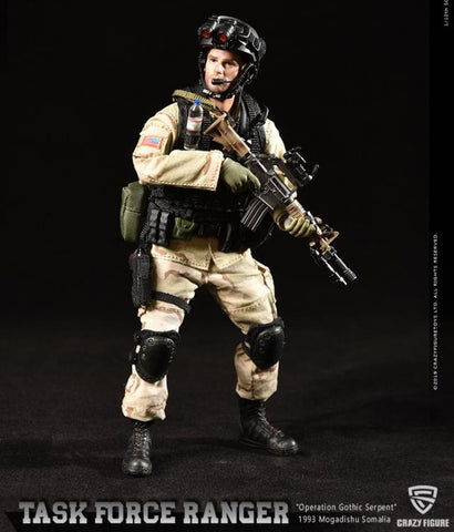 Shipping Soon! Task Force Ranger Master Sergeant (Operation Gothic Serpent) 1/12 Scale Figure LW005