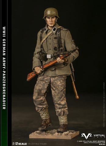 Pre-Order - 1/12 POCKET ELITE SERIES  WWII German Army - Panzergrgrenadier