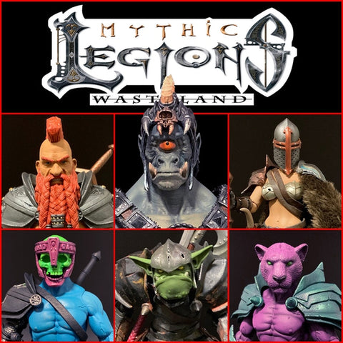 Pre-Order Mythic Legions Wasteland - ALL IN 6-Figure Set