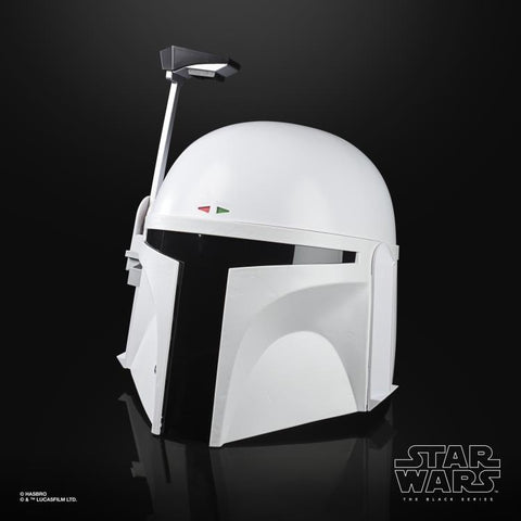 Star Wars The Black Series Boba Fett (Prototype Armor) Premium Electronic White Helmet Replica