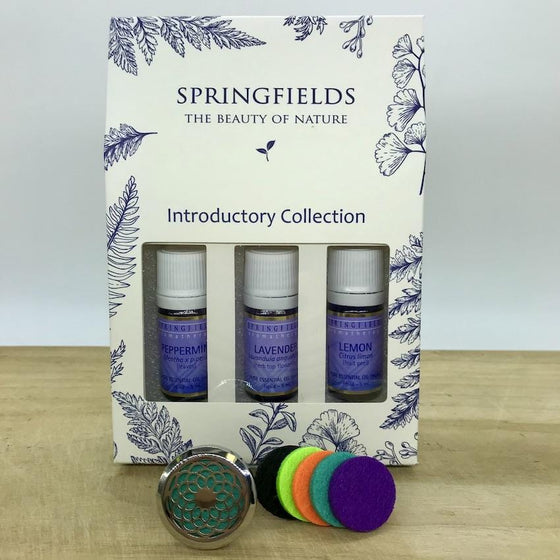 Aroma Car Diffuser Springfields Combo - Blossom