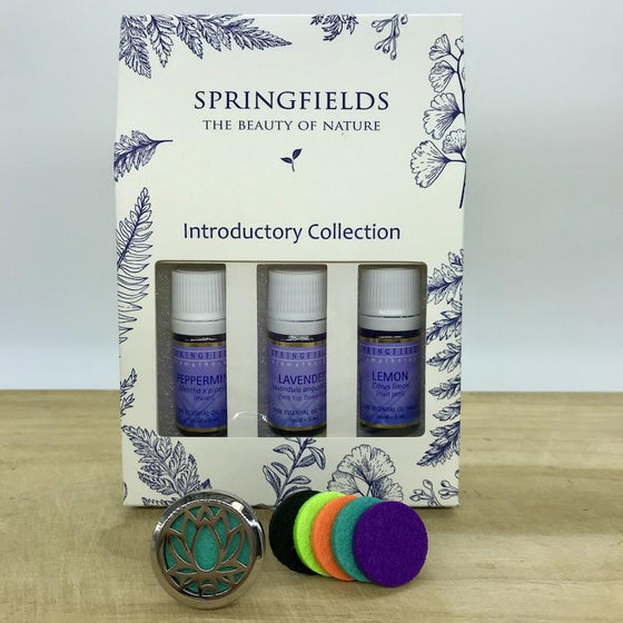 Aroma Car Diffuser Springfields Combo - Lotus