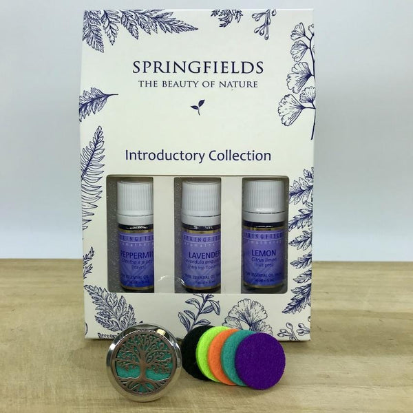 Aroma Car Diffuser Springfields Combo - Tree of Life