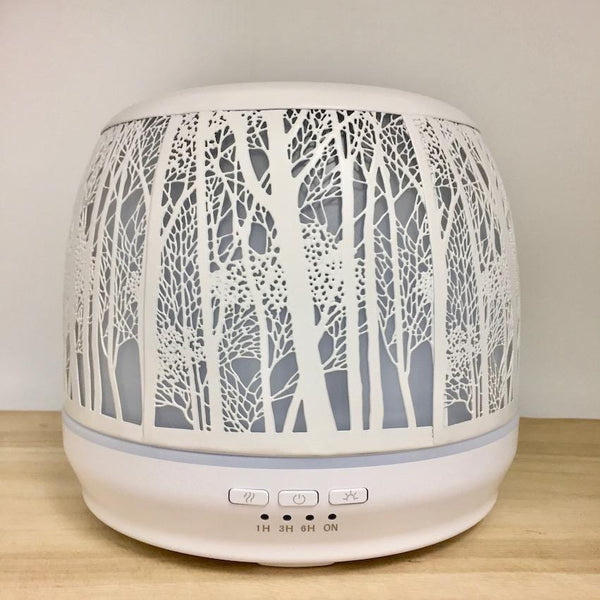 Aroma Diffuser Lantern - White Large 500ml light off