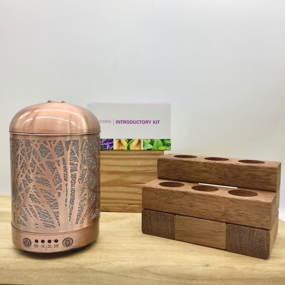 Bundle - Lantern Forest | doTERRA | Wooden Stand