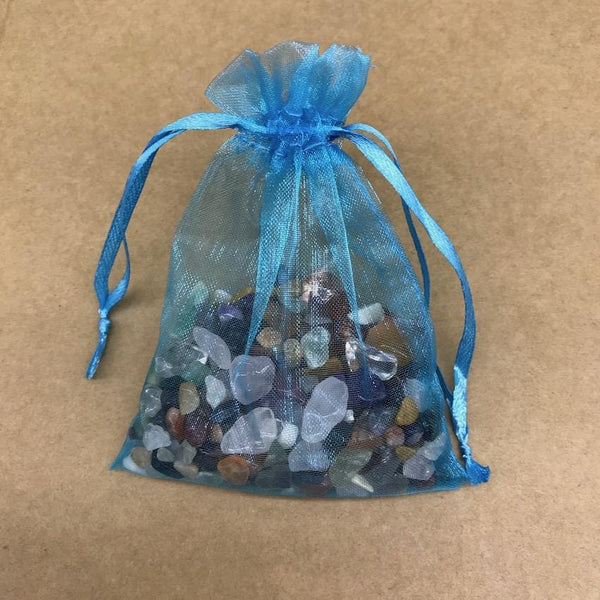 Mixed Crystal Chip Set - Organza Bag