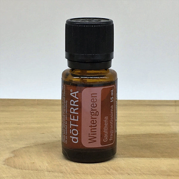 doTERRA  Wintergreen  15ml  Essential Oil - Earth And Soul