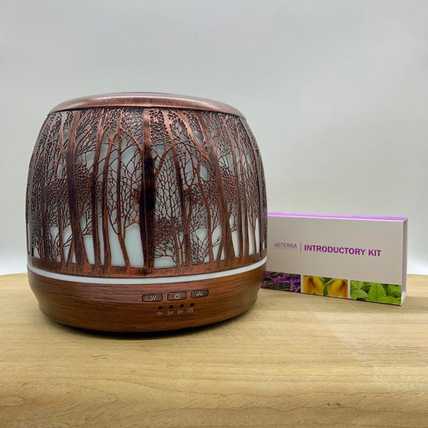 Bundle - Lantern Large 500ml Brushed Bronze | doTERRA Introductory Kit