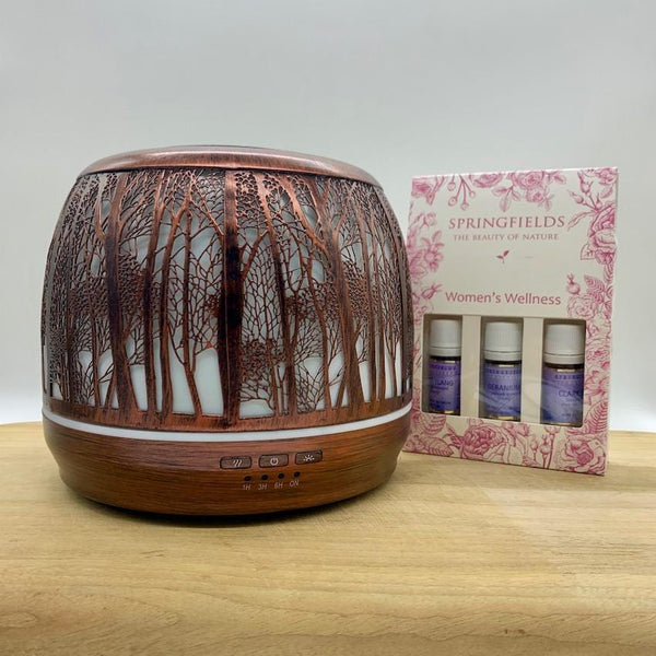 Bundle - Lantern Large 500ml Brushed Bronze | Springfields Women's Wellness Collection
