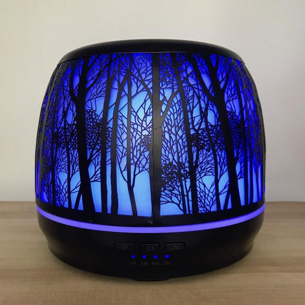 Aroma Diffuser Lantern - Large 500ml Blue Light