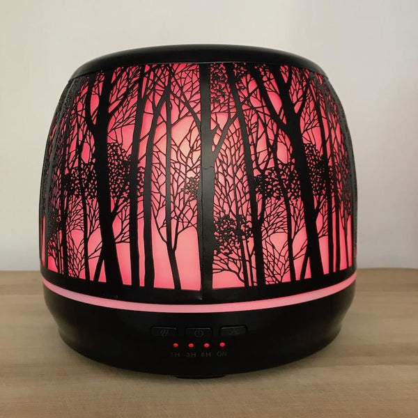 Aroma Diffuser Lantern - Large 500ml Red Light