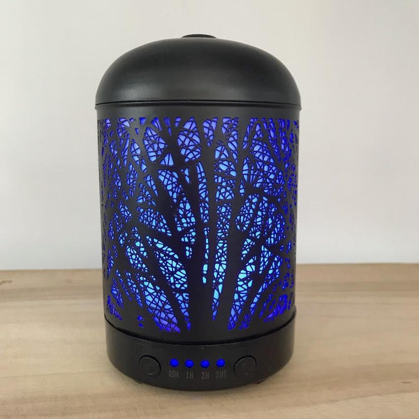 Aroma Diffuser Lantern - Willow Blue Light