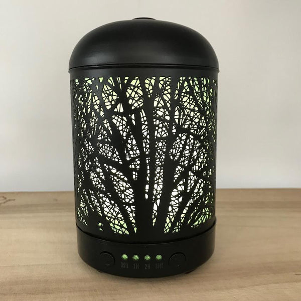 Aroma Diffuser Lantern - Willow Yellow Light