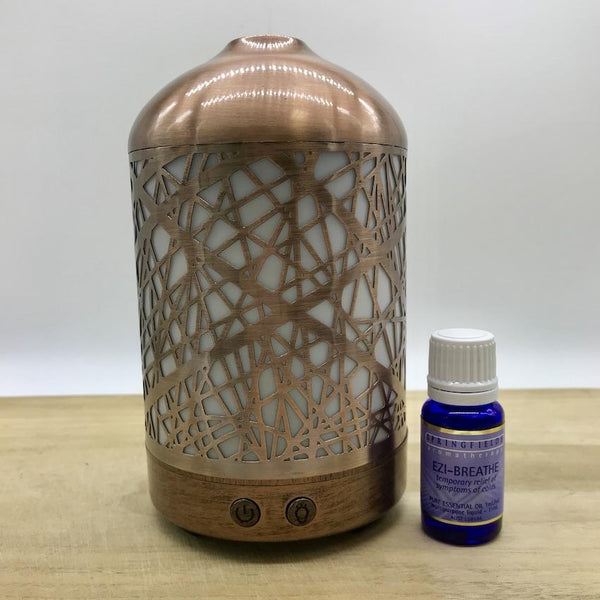 Winter Combo Lantern & Springfields Ezi-Breathe Ess Oil