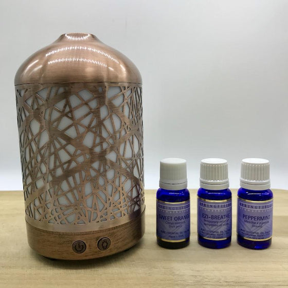 Winter Combo Lantern & Springfields Essential Oils