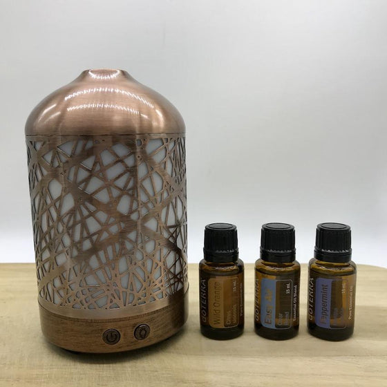Winter Combo Lantern & doTERRA Essential Oils