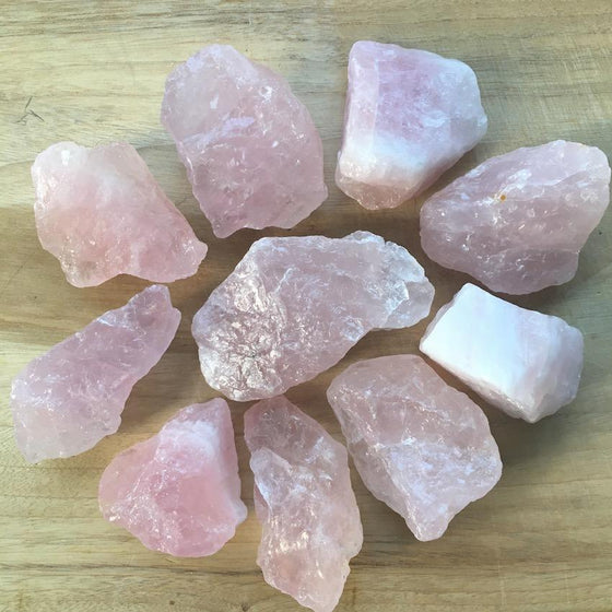 Rose Quartz Crystal Chunk - #2