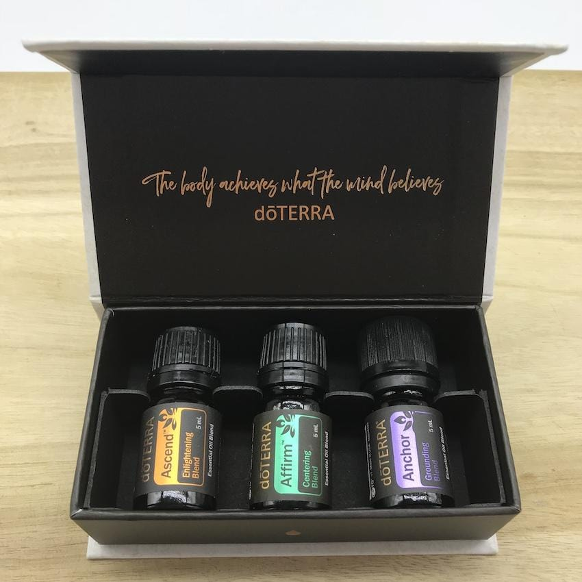 doTERRA Yoga Collection of 3 Pure Essential Oils