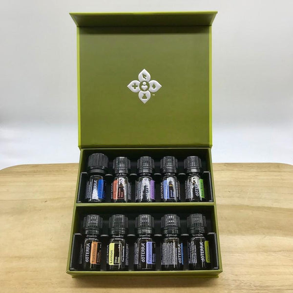 doTERRA Family Essentials Kit open