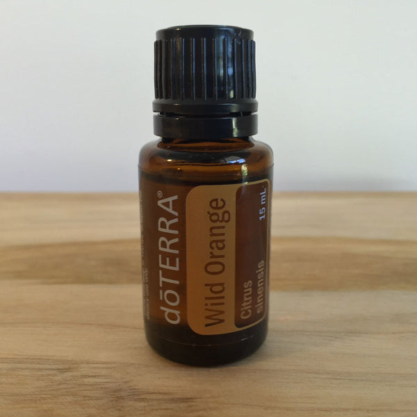 doTERRA  Wild Orange  15ml  Essential Oil - Earth And Soul