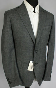 Hardy Amies Savile Row Grey Blazer Jacket Heddon Fit 40R RRP £350 #3694
