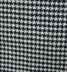 DIOR Blazer Jacket Black White Wool & Cashmere 40R CERRUTI FABRIC 3441