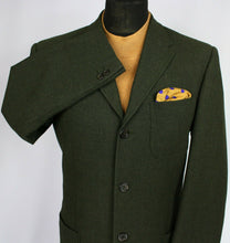 Load image into Gallery viewer, Trussardi Blazer Jacket Green 40R EXCEPTIONAL ITEM 3014