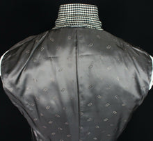 Load image into Gallery viewer, DIOR Blazer Jacket Black White Wool & Cashmere 40R CERRUTI FABRIC 3441
