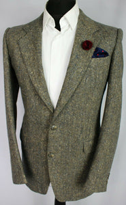 Tweed Hugo Boss Blazer Jacket Grey Lightweight 36R SUPERB QUALITY 3139