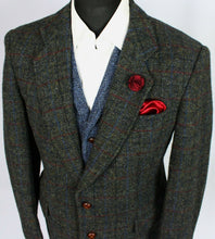 Load image into Gallery viewer, Harris Tweed Jacket Blazer 42S FANTASTIC COLOUR TWEED 3458