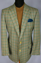 Load image into Gallery viewer, Burberry Blazer Jacket Cream Lightweight Wool 40S AMAZING QUALITY 3167