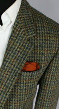Load image into Gallery viewer, Harris Tweed Blazer Jacket 44S AMAZING VIBRANT COLOURS 2753