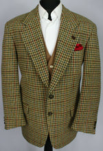 Load image into Gallery viewer, Harris Tweed Jacket Blazer 42S FANTASTIC COLOUR TWEED 3338