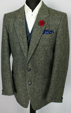 Load image into Gallery viewer, Harris Tweed Jacket Blazer Grey 42R SUPERB QUALITY 3783