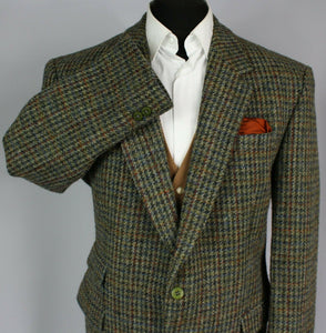 Harris Tweed Blazer Jacket 44S AMAZING VIBRANT COLOURS 2753