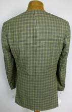 Load image into Gallery viewer, Loro Piana Blazer Jacket Blue Yellow Hugo Boss 42R SUPER 100's WOOL 3854