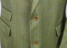 Load image into Gallery viewer, Burberry Blazer Jacket Green Lightweight Wool 42S AMAZING QUALITY 3123