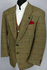 Harris Tweed Jacket Blazer 42S FANTASTIC COLOUR TWEED 3338